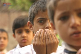 Orphans At School